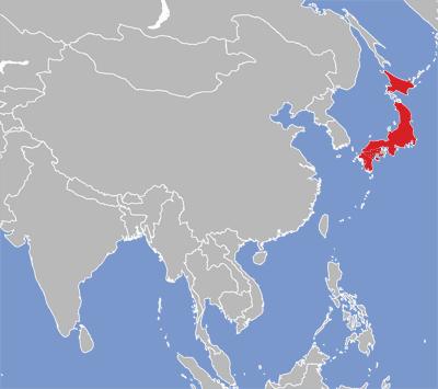 Japanese eatoni map of japanese language speakers gumiabroncs Image collections